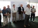 Inauguración estand de Ministerio de Ganadería en Expoactiva 2018, en Soriano