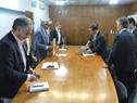 Ministro Enzo Benech recibe a delegación japonesa