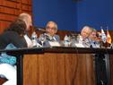 Enzo Benech, y Jorge Basso, en la apertura de la capacitación sobre inocuidad alimentaria