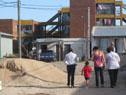 Se reencauzó la cañada que pasaba por el lugar con obras de rectificación y canalización de la trama urbana.