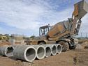 Construcción de planta tratamiento de aguas residuales, en Aceguá