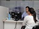 Milton Machado visita el nuevo local comercial de OSE en Melo