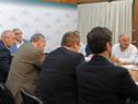 Reunión en la sede del Ministerio de Ganadería, Agricultura y Pesca