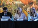 Álvaro García, Carolina Cosse y Marta Jara
