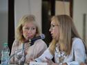 Presidenta de Ancap, Marta Jara, haciendo uso de la palabra