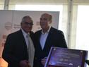 Ministro de Ganadería, Enzo Benech, junto a Intendente de Montevideo, Daniel Martínez