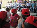 Acto realizado el miércoles 9 en la escuela n.° 75 de estación Atlántida