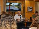 Ministro de Transporte y Obras Públicas, Víctor Rossi, encabezó conferencia de prensa