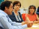 Firma de convenio entre Plan Ceibal e Inmujeres