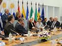 Conferencia de presidente Tabaré Vázquez y vicepresidenta y representante para Asuntos Exteriores de la Unión Europea, Federica Mogherini