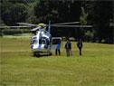 Llegada del presidente de Argentina, Mauricio Macri, a la estancia oficial del Parque Aarón de Anchorena