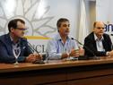 Guillermo Moncecchi, Álvaro García y Andrés Tolosa