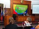 Presentación de campaña de vacunación de sarampión en Uruguay