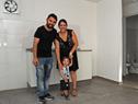 Inauguración de complejo de viviendas en el barrio La Aguada