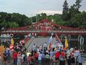 Rehabilitación del sistema giratorio del puente histórico de Carmelo