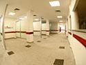Instalaciones del nuevo edificio que albergará al hospital de Colonia