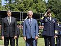 Presidente Vázquez en conmemoración de 106.° aniversario de la aviación militar