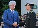 Acto de asunción del nuevo comandante en jefe del Ejército Nacional de Uruguay, José Ariel González