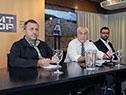 Ministro Rossi en conferencia de prensa
