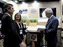 Vázquez recorrió diferentes pabellones que albergan la conferencia, entre ellos, los de Argentina, Naciones Unidas, China, Paraguay, Chile y Uruguay