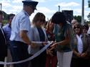Inauguración de policlínica de Chapicuy