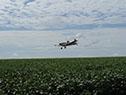 Demostración del funcionamiento del proyecto de monitoreo satelital de aplicaciones de agroquímicos