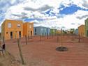 Acto de inauguración de viviendas, tras realojo de 36 familias en el barrio Casavalle de Montevideo