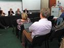 Conferencia de prensa en el Ministerio de Ganadería