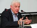 Federico Stanham, presidente del Instituto Nacional de Carnes, haciendo uso de la palabra