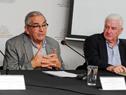 Ministro de Ganadería, Agricultura y Pesca, Enzo Benech, dirigiéndose a los presentes