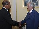 Embajador de Guyana, George Talbot