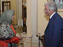 Embajadora de Indonesia, Niniek Kun Nyatie
