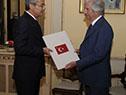 Embajador de Turquía, Sefik Vural Altay