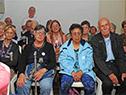 Inauguración de un centro de día con capacidad para 40 personas, en el parque Artigas de Pando, Canelones