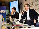 Director de OPP, Álvaro García, y el director del Inefop, Eduardo Pereyra