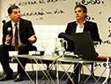 Director de OPP, Álvaro García, y director del Inefop, Eduardo Pereyra