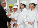 Benech, en planta industrial Copayan