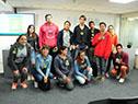 Presentación de becas para apoyo de estudiantes