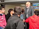 Presidente del Codicen de ANEP dialoga con estudiantes