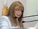 Gabriela Fulco y autoridades en la presentación de la hoja de ruta 2020-2025