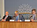 Ricardo Pérez Manrique, Ariel Bergamino y Pablo Saavedra