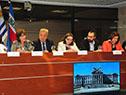 Presentación de informe de gestión 2018, en el Palacio Legislativo, en el Día Internacional de la Lucha contra el Maltrato Infantil