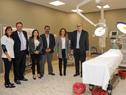 Autoridades en nueva sede del hospital de Colonia del Sacramento