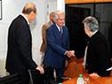 Vázquez reunido con la Corte Interamericana de Derechos Humanos