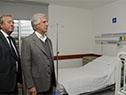 Tabaré Vázquez encabezó inauguración del hospital de Colonia