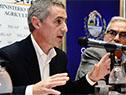 Presidente de la Agencia Nacional para el Desarrollo, Martin Dibarboure