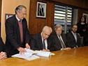 Firma de contrato con consorcio Grupo Vial Central para inicio de obras del Ferrocarril Central