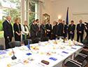 Tabaré Vázquez con embajadores de la Unión Europea
