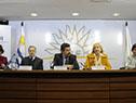 Ministra María Julia Muñóz, encabeza la presentación de compromisos en educación y derechos humanos 2019 - 2020