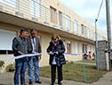 Acto de inauguración de viviendas en Bella Unión